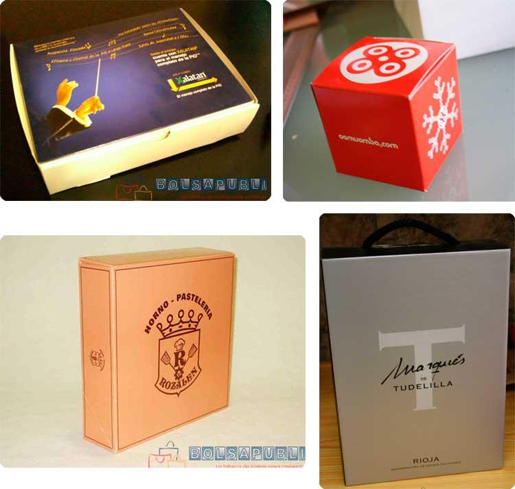 cajas de colores