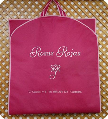 portatrajes rosas