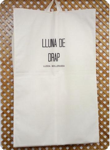 fundas de tela para trajes y vestidos blanco