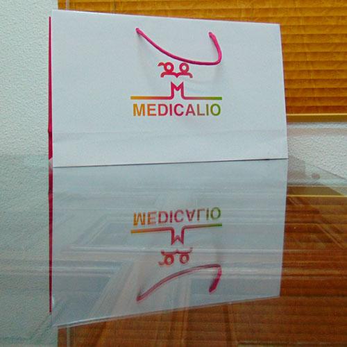 Bolsas Plastificadas Personalizadas Blanca