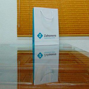 Bolsas Plastificadas Personalizadas Azul