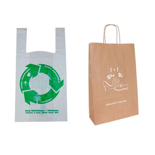 Bolsas de Plástico vs Bolsas de Papel