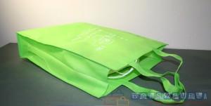 bolsas de tela verdes