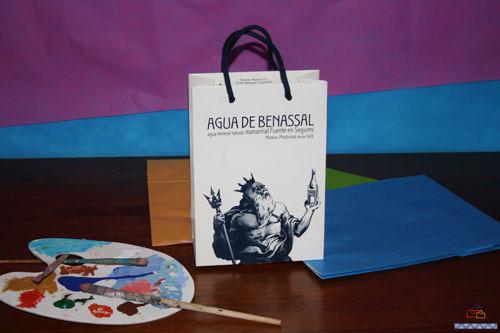 Bolsas de Lujo Impresas en Valencia agua