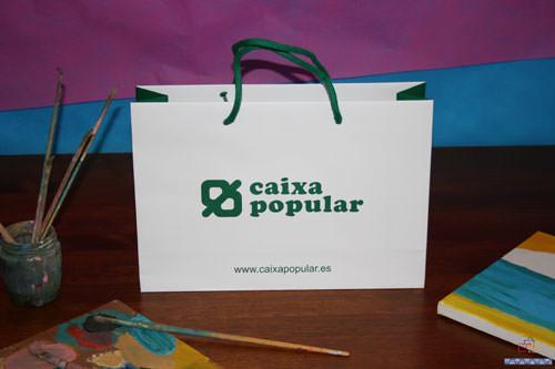 bolsas lujo plastificadas personalizadas
