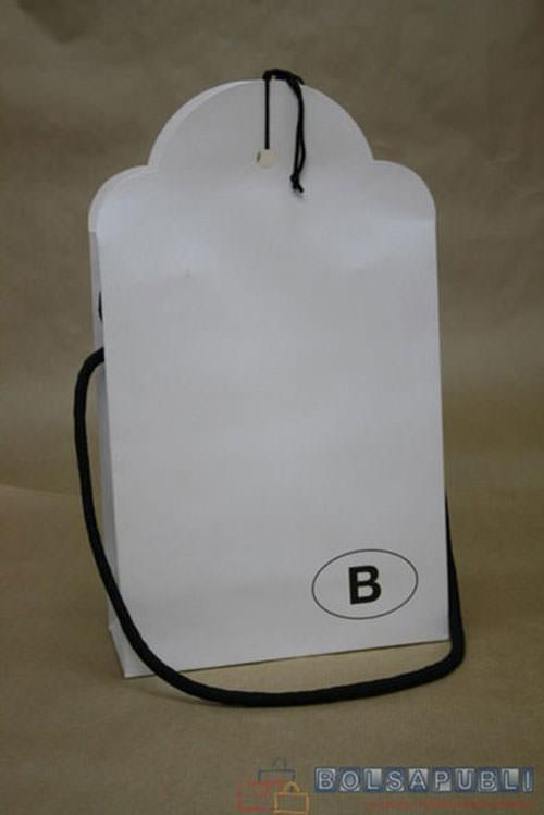 Bolsas para botellas blancas