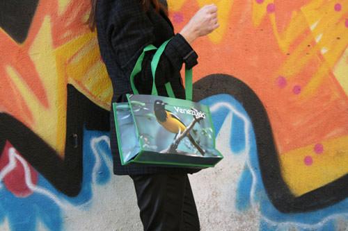 Bolsas Plastificadas pájaro