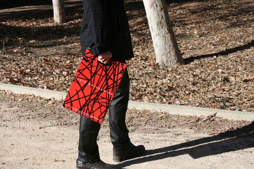 Bolsas Plastificadas roja y negra