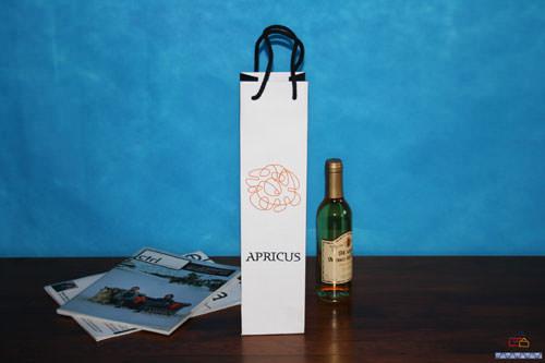 Bolsas publicidad de lujo botella