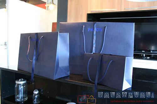 fabrica de bolsas de papel de lujo bonitas